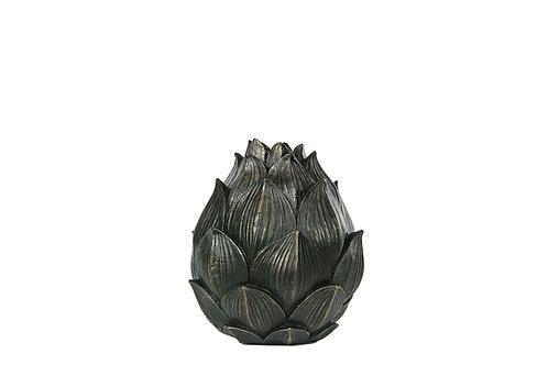 Kronärtskocka Ljusstake G.brun