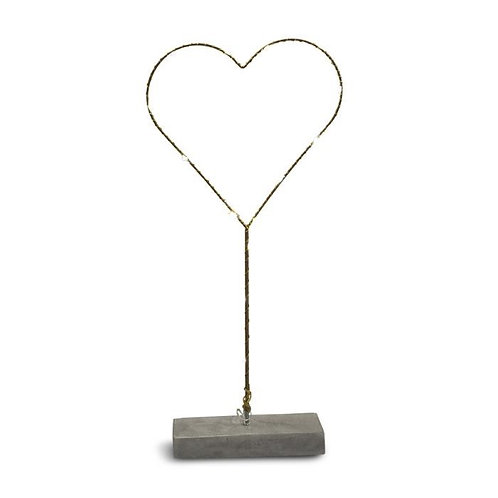 LED-hjärta stående