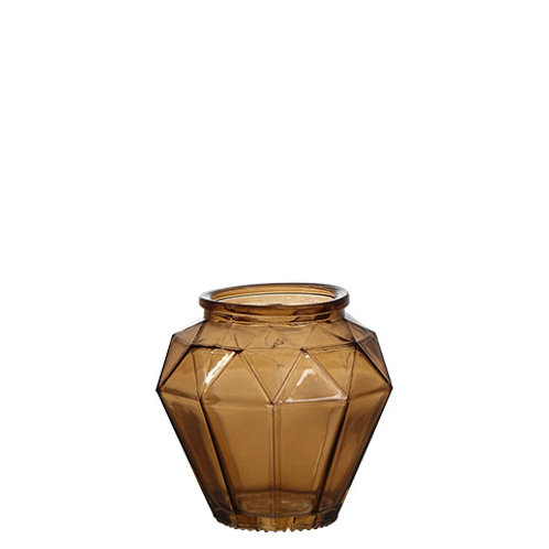 Ljushållare Brun Glas