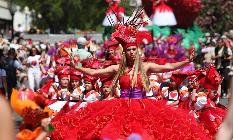 MADEIRA (Festa da Flor)