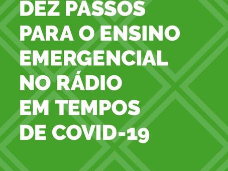 NER lança livro gratuito sobre ensino pelo rádio