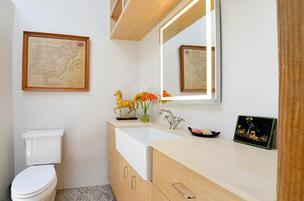 Guest Bathroom in Historic Remodel