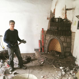 Fireplace re build