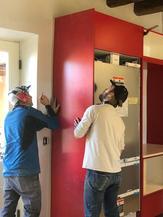 Bespoke Cabinet Install