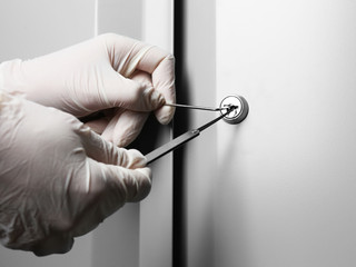 Locksmiths should always ask for your ID when you are locked out.
