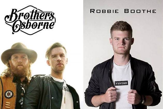 Robbie and Brothers Osborne