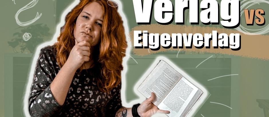 AUTOR WERDEN: Verlag VS Eigenverlag