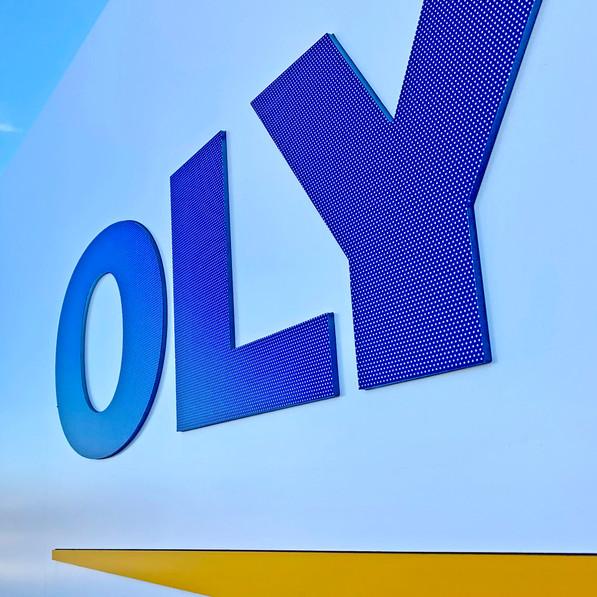 Olympus Signage
