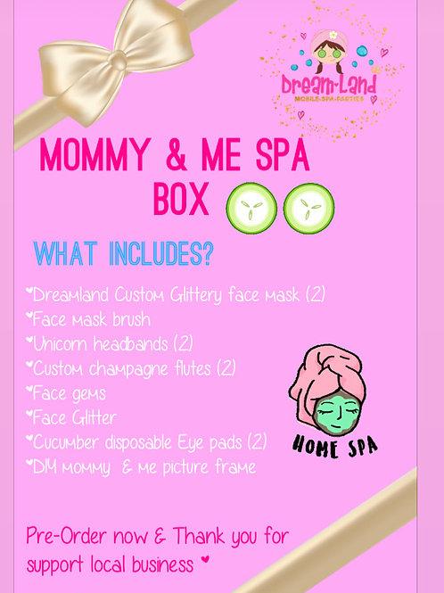 Mommy & me spa kit