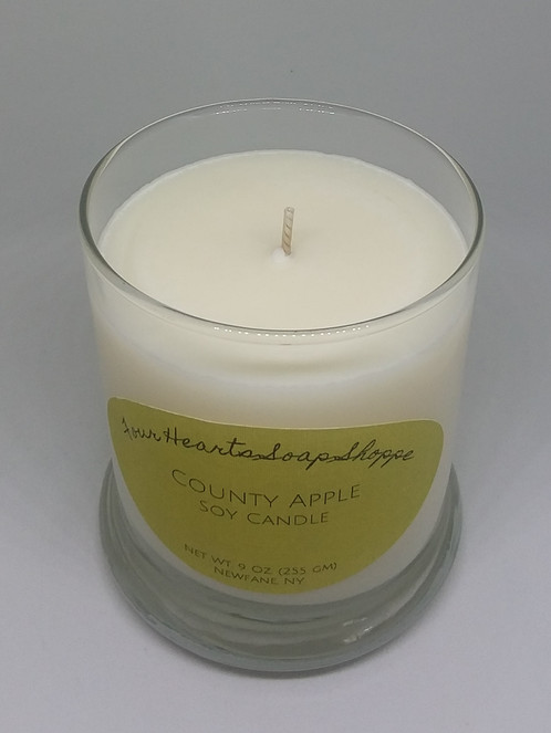 Soy Candle Country Apple Large Candle Housewarming Gift Handmade
