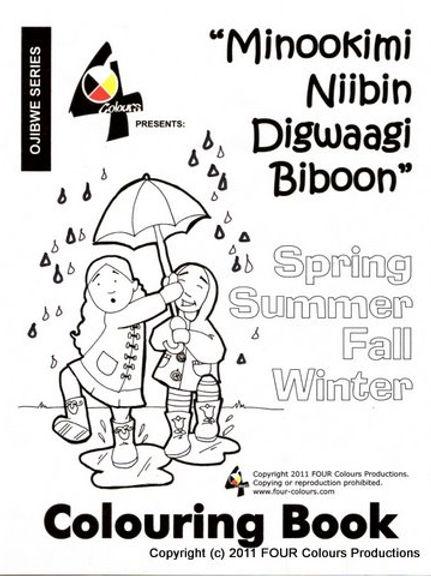 Coloring Book - Seasons