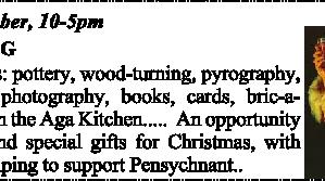 Pensychnant Christmas Fair