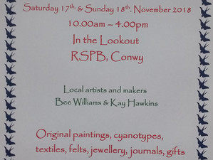 Art & Craft Fair at the RSPB, Conwy
