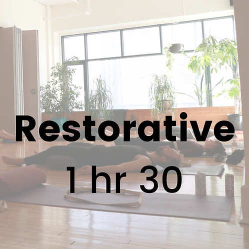 Restorative with Champa - Tuesday January 12