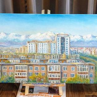 Bishkek the post-Soviet