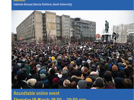 """""""Navalny and beyond: Assessing protests in Russia"""" Roundtable VIDEO!"""