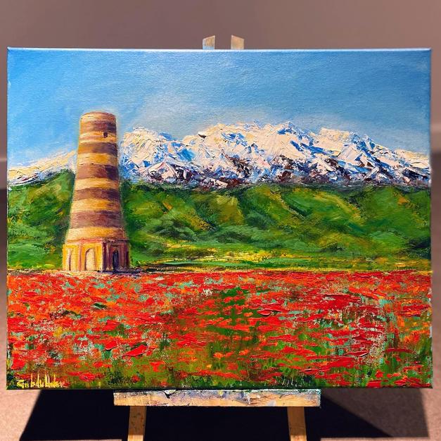 Burana Tower near Bishkek