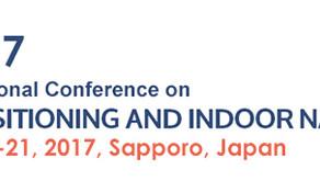 9/20-21: 屋内測位・ナビゲーション国際学会(IPIN2017)の企業展示に出展