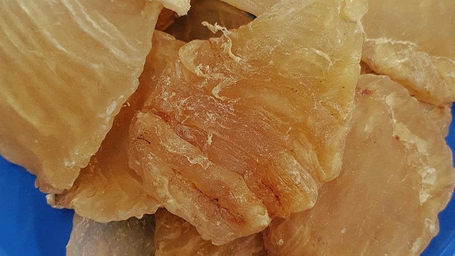 Fish Maw (Flower Gum) 鱼肚干 (花胶)