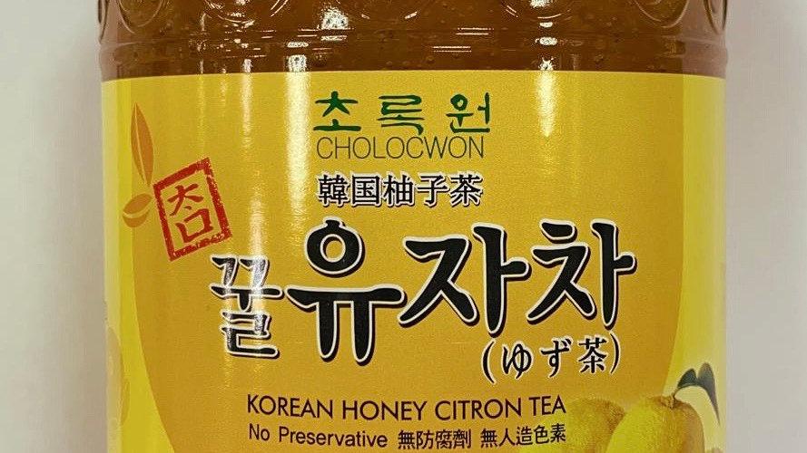 Korean Honey Citrus Tea 韩国柚子茶