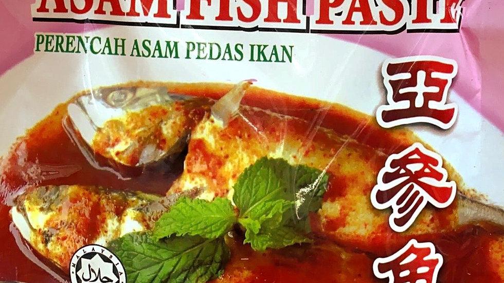 Asam Fish Paste 亚参鱼酱