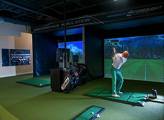 Tees & Taps golf simulators