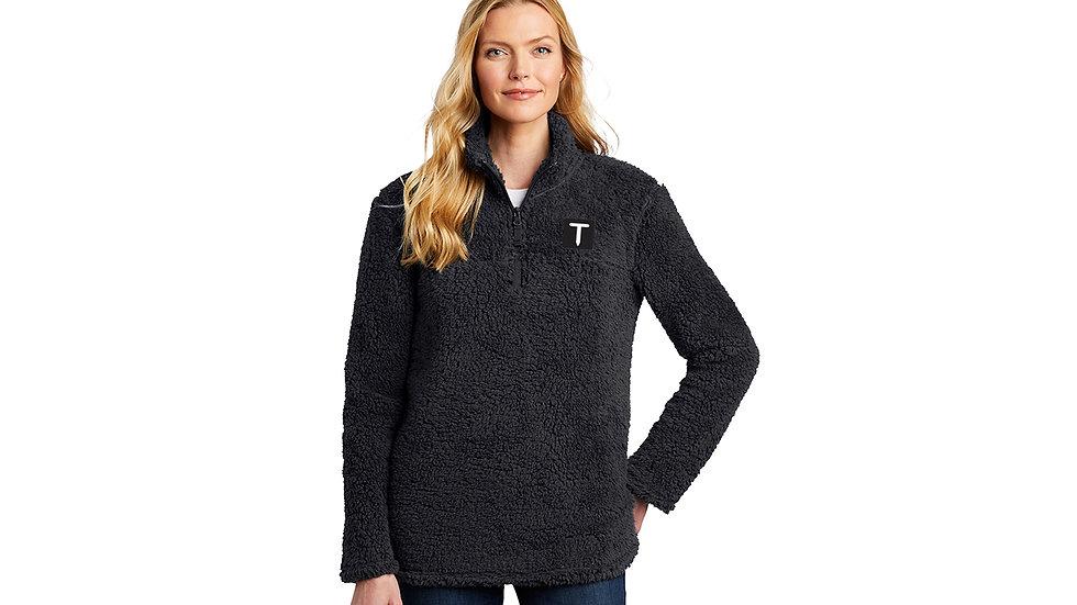 Ladies Sherpa Pullover