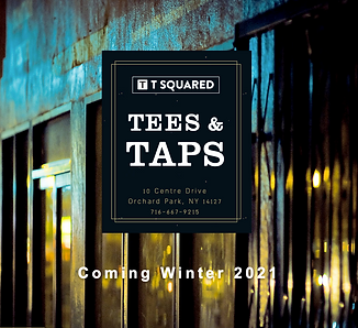 Tees & Taps homepage