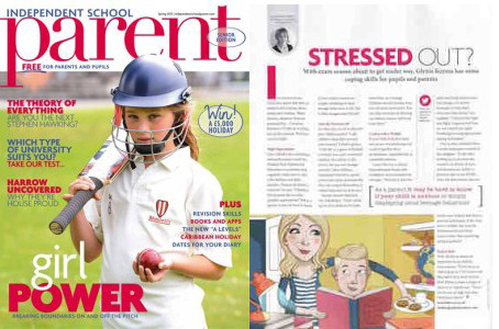 I'VE FEATURED IN INDEPENDENT SCHOOL PARENT MAGAZINE
