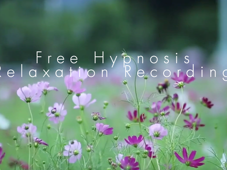 Free Hypnosis Relaxation Recording