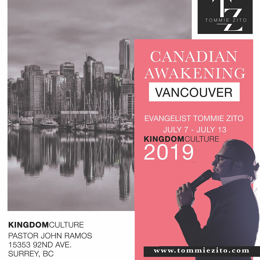 Awakening Vancouver- Evangelist Tommy Zito