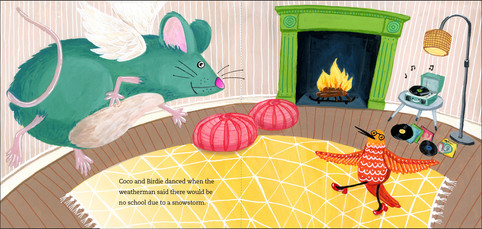 Children's book spread