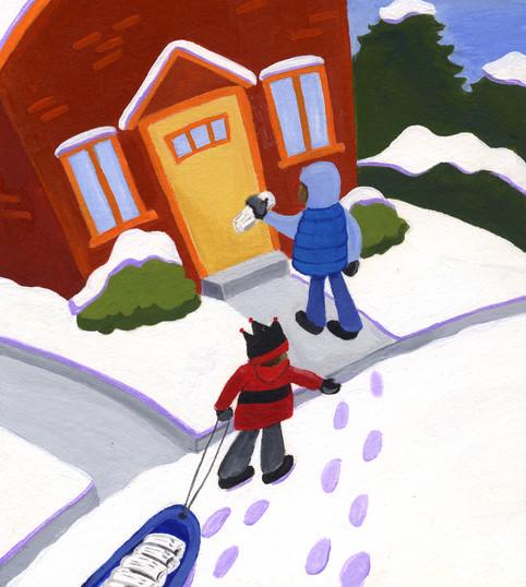 Children's book story, The Kite