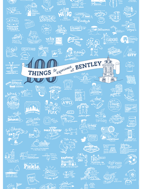 100 Things to Do at Bentley Poster