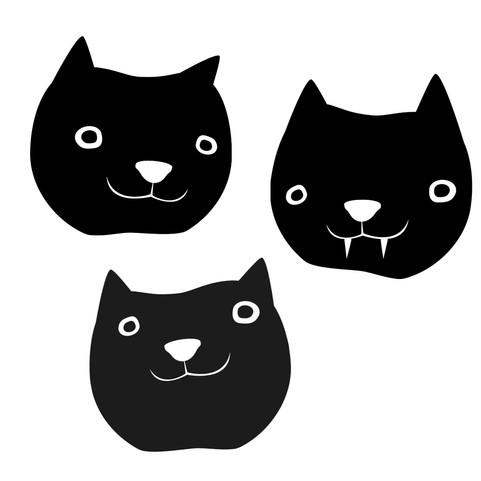 Cat trio for windows