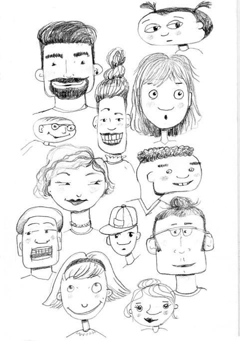 Faces exploration