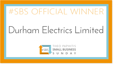 County Durham‐basedDurham Electricsgets a Twitter Boost from Theo Paphitis