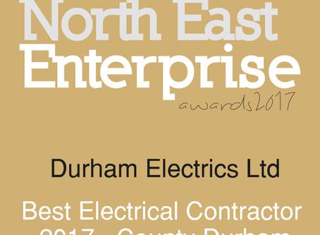 Durham Electrics pick up two SME News Awards