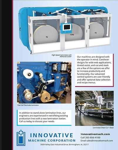 Industrial laminator information