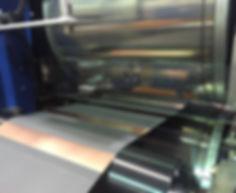 Pilot scale calender machine
