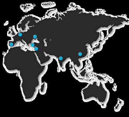 web machines in europe asia