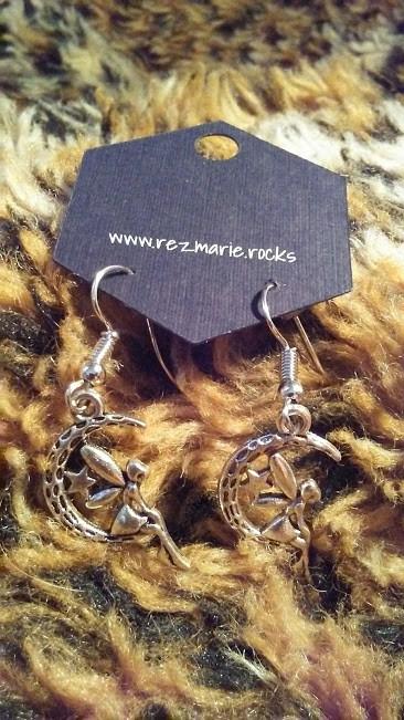Mystic Moon Fairy Earrings