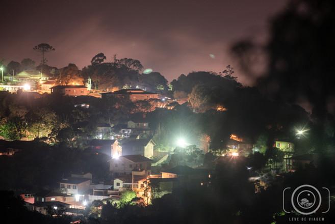 Ouro Preto iluminada