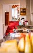Café da manhã em Hostel no Alagoas