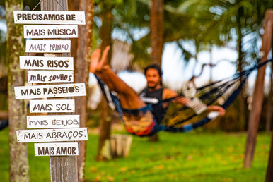 Relaxando na Ilha do Marajó