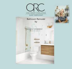 One Room Challenge - Spring 2021 - Bathroom Remodel - Week 4