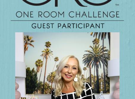 One Room Challenge Spring 2020 - Week 1 - Custom Home Office -