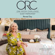 One Room Challenge - Fall 2020 - Week 6 - Master Bedroom Makeover: The Reveal Day