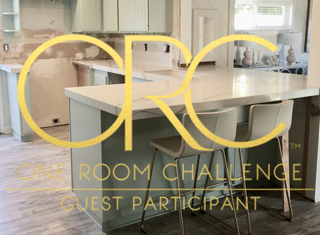 One Room Challenge - Fall 2019 - Week 4 of a Kitchen Remodel