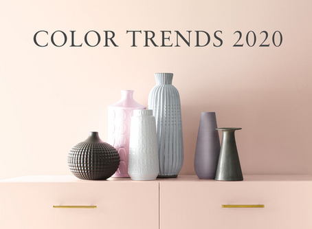 Color of the year 2020: Do we have to change the color of our walls?